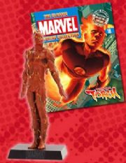Classic Marvel Figurine Collection #018 Human Torch Eaglemoss Publications
